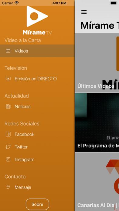 Mírame TV CanariasCaptura de pantalla de2
