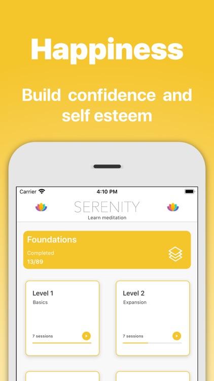 Serenity - Meditation App screenshot-3