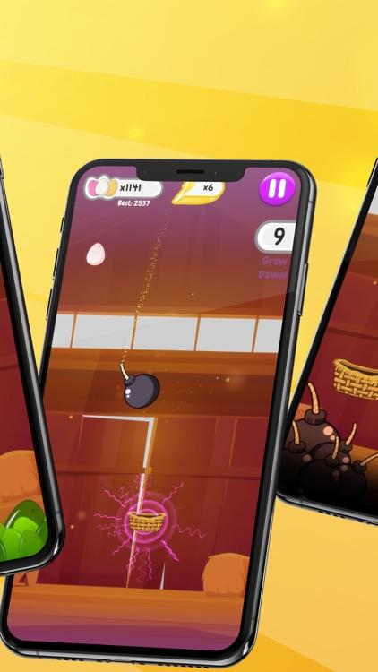 Egg Rain - Collect in basket screenshot-8