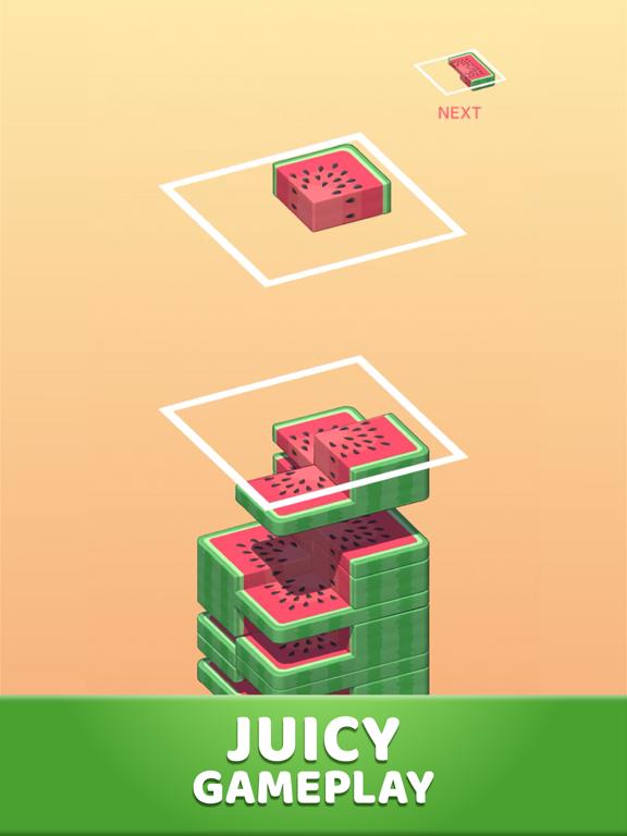 Juicy Stack - 3D Tile Puzzlеのおすすめ画像1