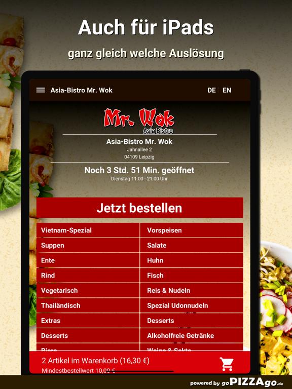 Asia-Bistro Mr. Wok Leipzig screenshot 7