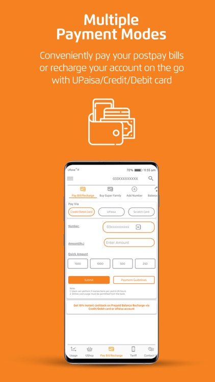 My Ufone - یوفون screenshot-4