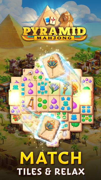 Pyramid of Mahjong: Tile Match screenshot 1