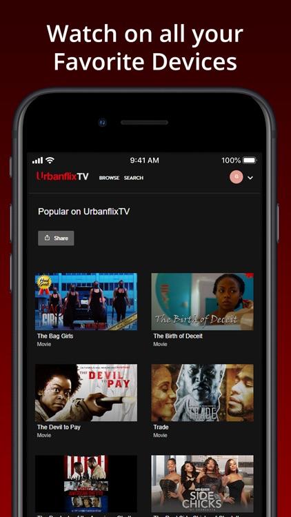 UrbanflixTV screenshot-3