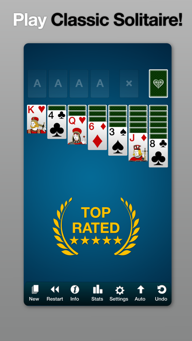 Solitaire by Solebon screenshot one