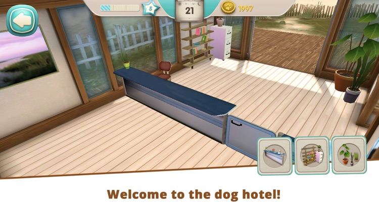 Dog Hotel - Play with dogs screenshot-0