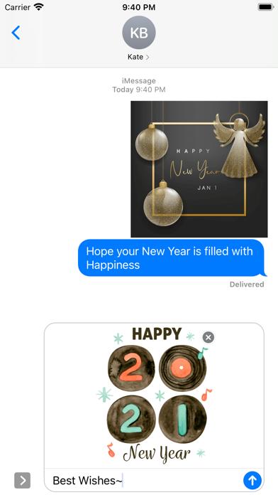 2021- Happy New Year Greetings screenshot 2
