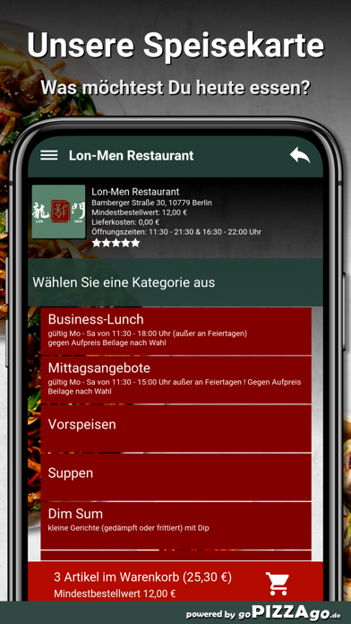 Lon-Men Restaurant Berlin screenshot 5