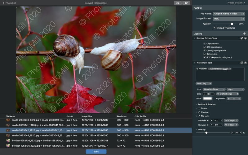 PhotoMill: The Image Converter
