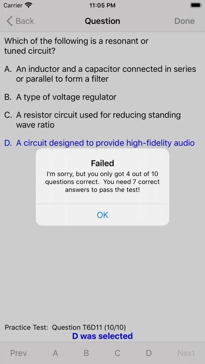 HAM Test Prep Lite: Technician screenshot-3