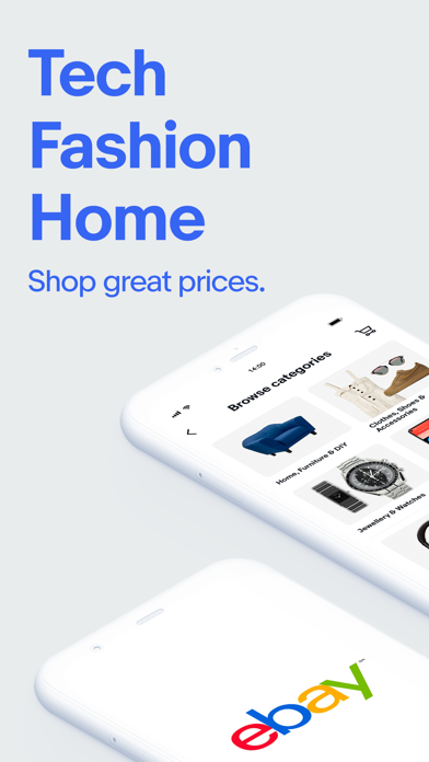 eBay - Buy, sell and save screenshot one