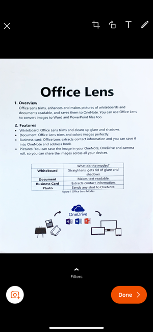 ‎Microsoft Office Lens|PDF Scan Capture d'écran