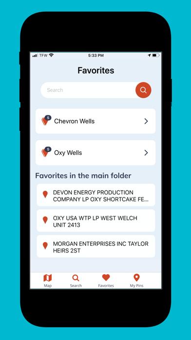 Wellsite Navigator Screenshot