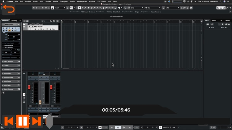 Beginners Guide for Cubase 11