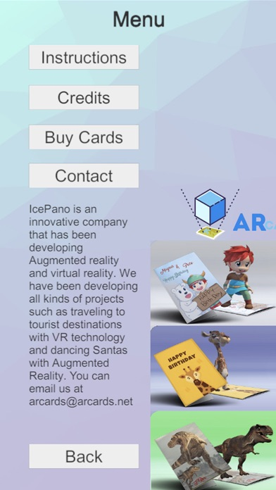 ARcards.net screenshot 3