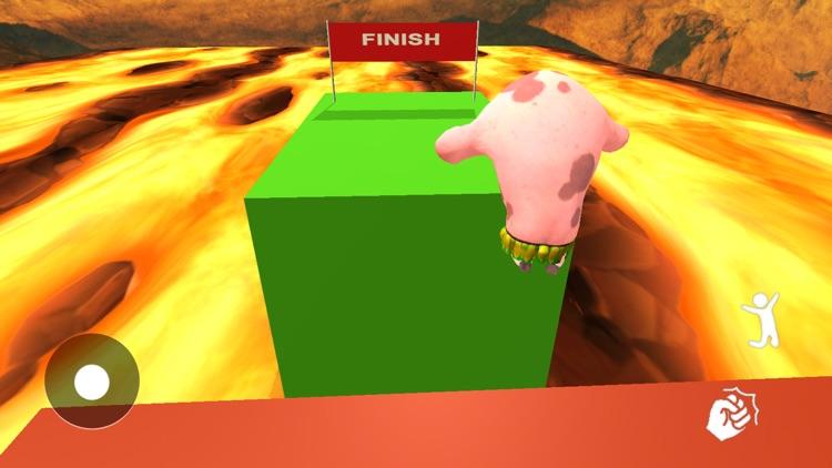 Evil Piggy - Lava Escape Jump screenshot-3