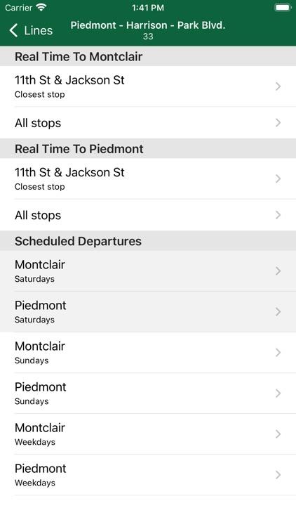 Schedules - AC Transit screenshot-3