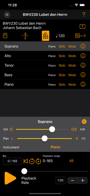Choral Lesson Offers Choral Members to Practice Using Their iOS Device Image