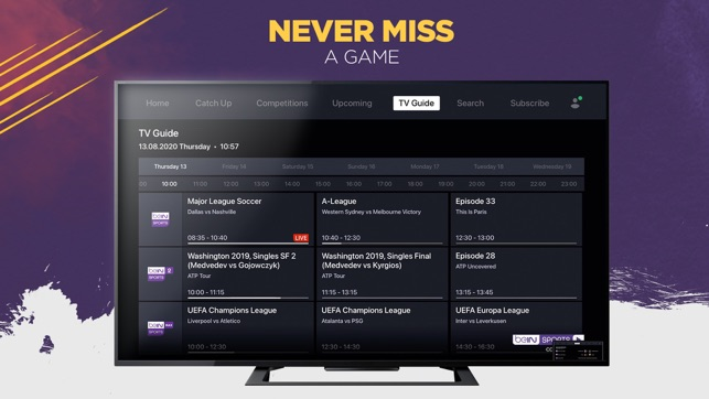 Bein Sports Connect Apac On The App Store