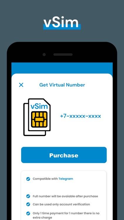 Telegram Virtual Phone Number screenshot-6