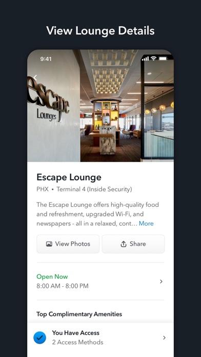 LoungeBuddy Airport Lounges screenshot