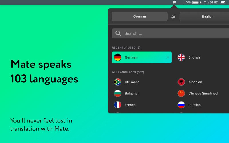 Translator by Mate Screenshots
