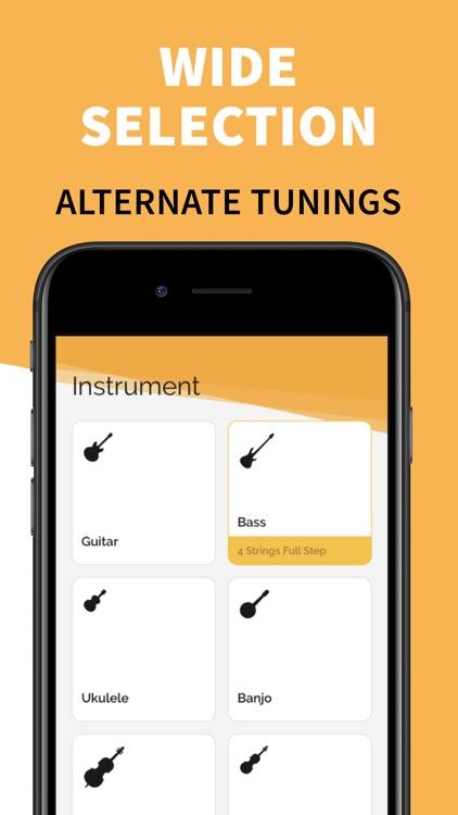 Chromatic Real Guitar Tuner screenshot-3