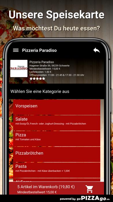 Pizzeria Paradiso Schwerte screenshot 4