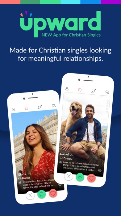 Upward: Christian Dating Screenshot