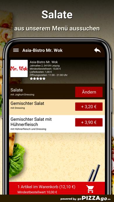 Asia-Bistro Mr. Wok Leipzig screenshot 5