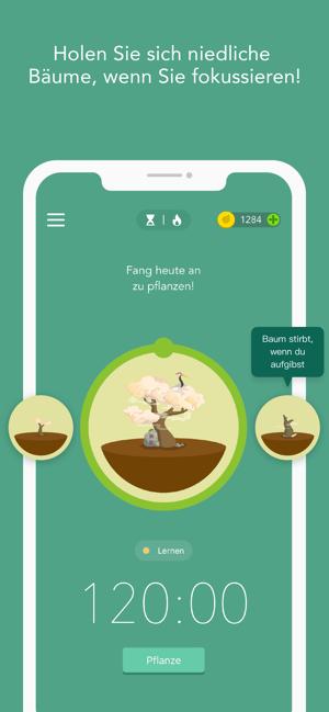 Forest - Bleib fokussiert Screenshot