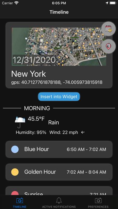 Blue Golden Hour Screenshots
