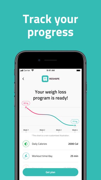 Reshape - Fasting TrackerScreenshot of 5