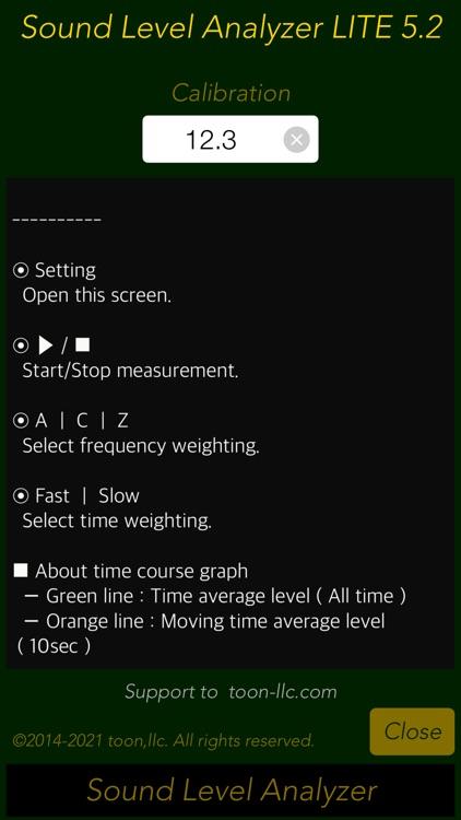 Sound Level Analyzer Lite screenshot-3