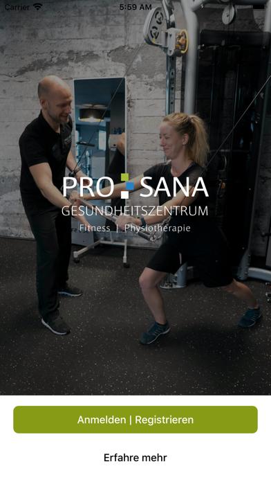 ProSana GesundheitszentrumScreenshot von 1