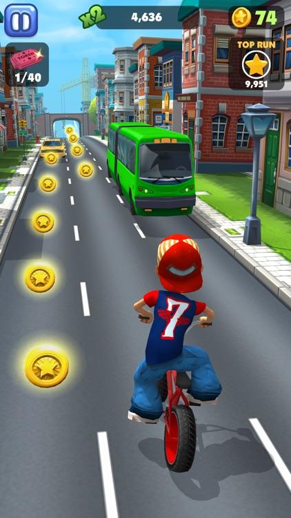 Bike Blast -BMX Race Game screenshot-4