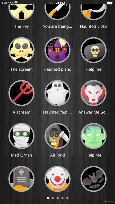 Tonos de MiedoCaptura de pantalla de1