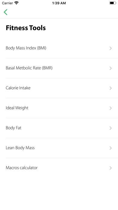 Diet N Fit screenshot 2
