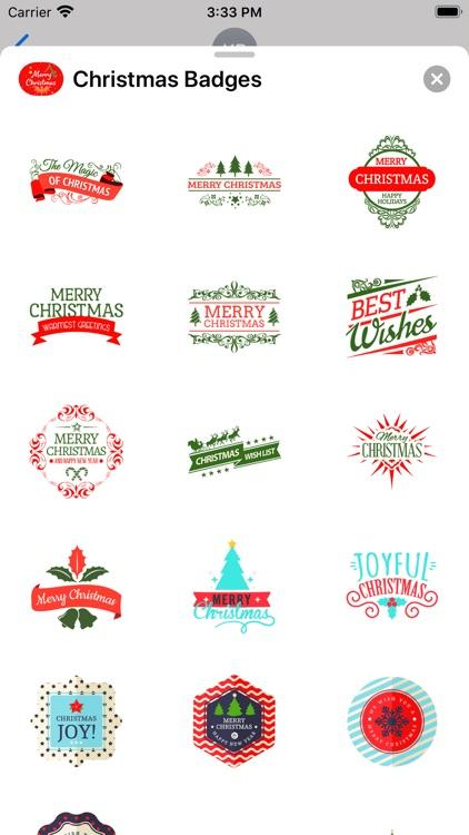 Christmas & New Year Badges screenshot-5