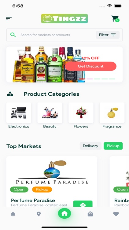 Tingzz - Shopping App