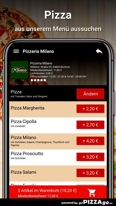 Pizzeria Milano Bochum screenshot 5