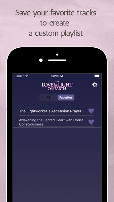 For Love and Light On Earth Screenshot