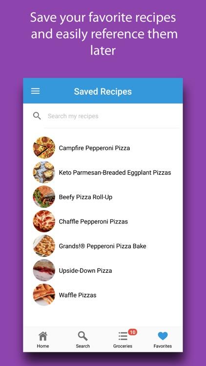 Crusty: Pizza Recipes screenshot-5