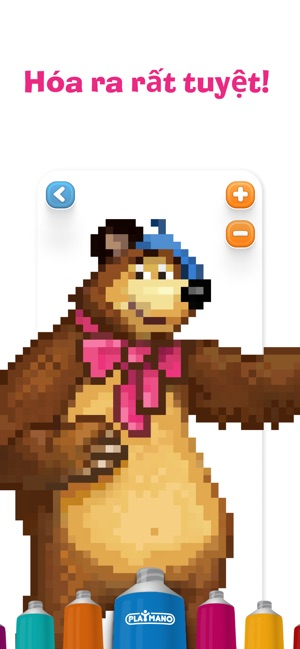 Masha và Gấu: màu cuốn sách