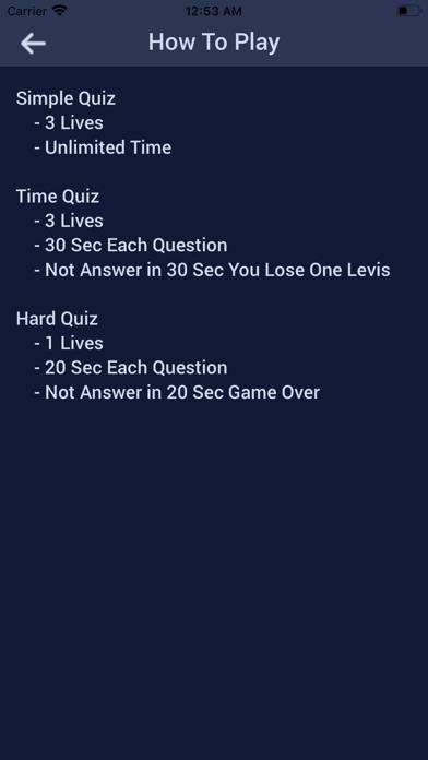Carpenter Quiz screenshot 3