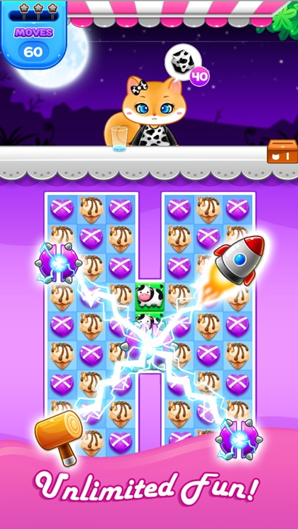 Candy Sweet: Match 3 Games screenshot-4