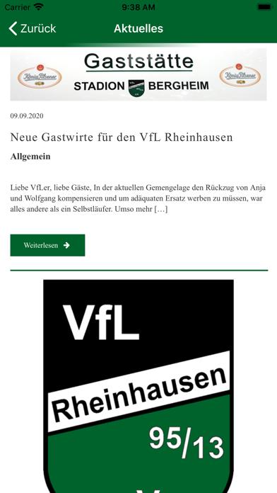 VfL Rheinhausen 95/13 e.V.Screenshot von 4