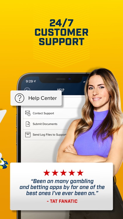 FOX Bet Sportsbook & Casino NJ screenshot-5