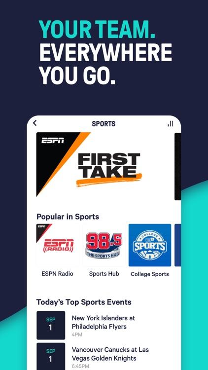 TuneIn Pro - Radio & Sports screenshot-4