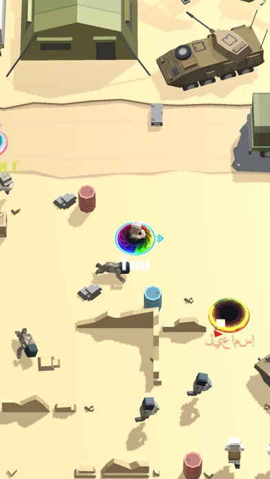 Color Hole - 3d hole gamesのおすすめ画像7